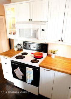 ikea cabinet, budget kitchen makeover