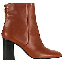Buy Whistles Ohi Zip Back High Ankle Boots Online at johnlewis.com
