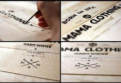 MAMA Clothing - Handmade Lettering
