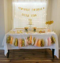 Twinkle Twinkle Little Star 1st Birthday Party