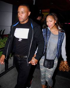 Devon Franklin and Megan Good! Such a good looking couple!