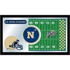 U.S. Naval Academy Midshipmen Football Field Wall Mirror