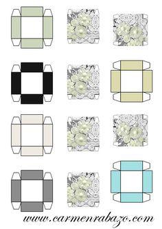 Cajas miniatura 1:12, Miniature Boxes 1:12