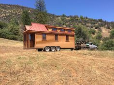 Delivery of our tiny house!