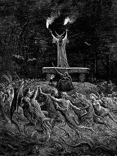 La danse du sabbat Gustave doré 1860 - 1877