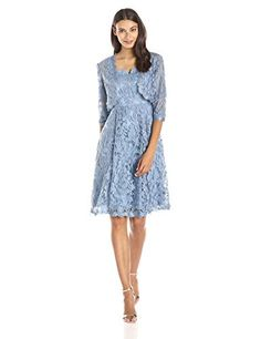 Adrianna Papell Women's 3/4 Sleeve Lace Fit and Flare Dre... http://smile.amazon.com/dp/B00VU7ZNRM/ref=cm_sw_r_pi_dp_.VHpxb1X6VD9Y