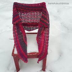 Tutorial in Finnish That Look, Knitting, Crochet, Winter, Scarfs, Accessories, Jewelry, Fashion, Winter Time