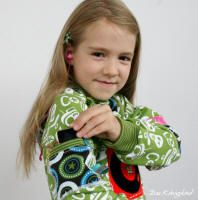 farbenmix Herbstkollektion 2014 Mädchen-Sweater FRESITA, farbenmix.de #sewing #nähen #farbenmix