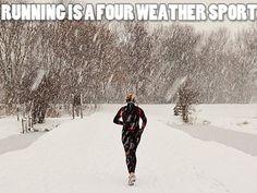 <3 running in winter