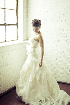 Lovely, dramatic bridal images from Kelly Is Nice Photography via Fab You Bliss