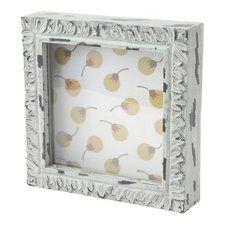 Decorative Square Mint Shadow Box