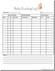 New parents, nurses, or caregivers can keep track of a newborn ...