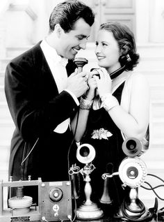 "misstanwyck: "" Barbara Stanwyck and Robert Taylor, 1936 "" Golden Age Of Hollywood, Vintage Hollywood, Hollywood Stars, Classic Hollywood, Hollywood Icons, Vintage Vogue, Vintage Glamour, Hollywood Celebrities, Hollywood Actresses"