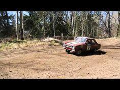 Headquake's RC Rally Car with Rally Car Audio