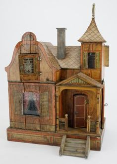 An Unusual Transitional Gottschalk Dolls' House