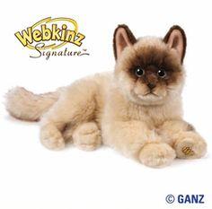 Webkinz Signature Ragdoll Cat $24.95