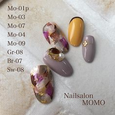 "317 Likes, 2 Comments - Mariko tanabe (@nailsalonmomo) on Instagram: ""#nail#nails#nailart#nailstagram#autumnnails…"""