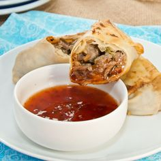 Sweet Pea's Kitchen » Philly Cheesesteak Egg Rolls