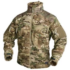 This warm & comfortable Helikon Liberty Fleece is a new addition to Military 1st range of army style fleeces & jackets. Made from double superfine fleece, with Cordura re-inforced upper chest & both sleeves, total of 6 pockets & armpit ventilation zippers. Perfect for all outdoor activities. £54.99