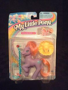 NIP Hasbro 1997 Kenner My Little Pony Petal Blossom Horse Secret Surpris Friend  #Kenner