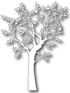 Inspiration for using Memory Box papers, stamps, dies, and stencils in your papercrafting and cardmaking projects! Kirigami, Tree Crafts, Paper Crafts, Diy Paper, Stencils, Image Nature, Memory Box Dies, Stencil Patterns, Tree Silhouette