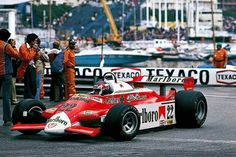 Patrick Depailler Alfa Romeo 180 Monaco 1980