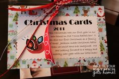 Christmas Card Book- what to do with old Christmas cards