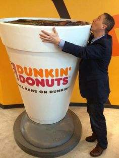 This week, Dunkin' Donuts invited the folks at Phantom Gourmet to test out a few exclusive concoctions at their world headquarters in Canton, Mass., including a bacon donut. Donkin Donuts, Mister Donuts, Bacon Donut, Coffee Humor, Massachusetts, Mornings, Boston, England, Drinks