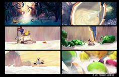 Cloudy with a chance of Meatballs 2 concept art