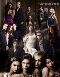 The Vampire Diaries Cast Blanket
