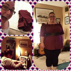 "My ""Peasant"" style top made from a men's dress shirt Dress Shirt, Men Dress, Peasant Tops, Button Down Shirt, Shirt, Dress Shirts"