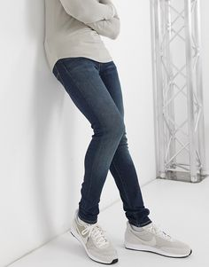 Jeans Fit, Jeans Skinny, Levis Jeans, Skinny Fit, Tapered Jeans, Cotton Spandex, Smal, Latest Trends, Thighs