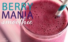 Berry Mania Smoothie - Breakfast is the most important meal of the day and we want to make sure you start it off right! Enjoy our Berry Mania smoothie – great for you and the kids. Recipe type: Smoothie Serves: 1 Ingredients 1 cup of strong Steeped Tea Yummy Smoothies, Juice Smoothie, Breakfast Smoothies, Smoothie Recipes, Fruit Tea Recipes, Recipe Of The Day, Recipe Type, Nail Designer, Mixed Berries