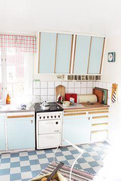 Köket på Bråkmakargatan | Astrid Lindgrens värld | via Kungenochmajken