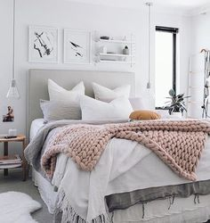 Our hub side table at its best shop online | tap link in bio @oh.eight.oh.nine shows us how Spring should look with this light-filled bedroom, and it sure is beautiful ☀️ Although I think someone needs to remind SA it's no longer the middle of winter!