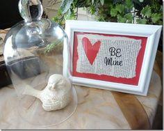 Inexpensive Valentine's Frame