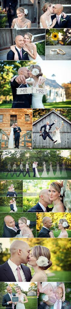 Consider having your wedding portraits before the wedding or even the day after! Makes for a much more relaxed bride & groom. Ask for details:)
