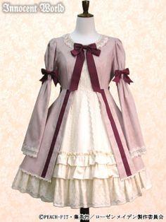 innocent world ローゼンメイデン雛苺ドレス