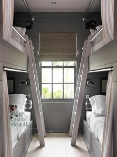 Bedroom bunkies on pinterest bunk rooms bunk bed and for Bunkie interior designs