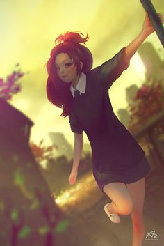 Solely by Aekkarat Sumatchaya | Anime | 2D | CGSociety