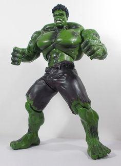 The Hulk - Action Figure - Marvel 2013 Hulk Action Figure, Action Figures, Comic Book Heroes, Comic Books, Incredible Hulk, The Incredibles, Marvel, Comics, Ebay