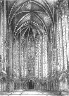 Sainte Chapelle by ~JeSSanchez on deviantART