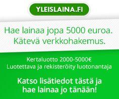 Perinteinen kertaluotto jopa 5000 euron summalle