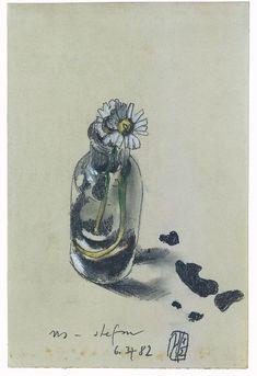 Horst Janssen – all_drawings Horst Janssen, Gouache, Still Life Flowers, Digital Museum, List Of Artists, Types Of Art, Watercolor Flowers, Painting & Drawing, Flower Art