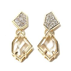 "These ""Ice Queen"" earrings from HSN's Maleficent Event Collection will bring a little regal rebel to your look."