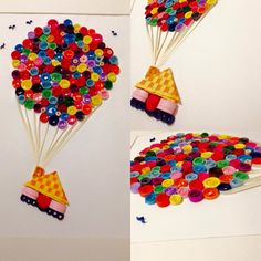 Flying Home  #art #colorful #flying #gift #handmade #home #paper #quilling #quillingart:separator: