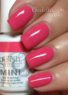 Gelish Passion Swatch.Get Gelish at www.esthersnc.com