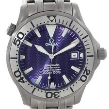 Omega Seamaster Titanium Mens Watch 2231.80.00