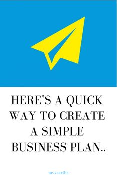 Learn how to make a business plan easily within a couple of hours In it s simplest form, business planning, sample business plan, small business plan, making a business plan Making A Business Plan, Small Business Plan, Business Planning, Business Tips, Online Work From Home, Work From Home Jobs, Online Earning, Earn Money Online, Online Group