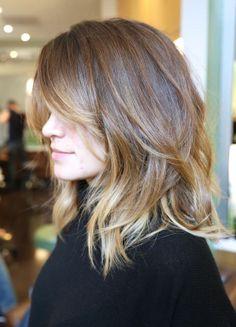 californianas en cabello corto